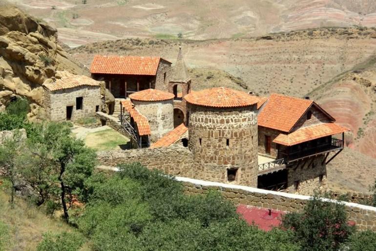 Eines der beliebtesten Sehenswürdigkeiten in Georgien: das Kloster Dawit Garedscha (Foto: Weltreiseforum)