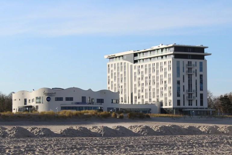 Das aja ist eines der Wellnesshotels mit Meerblick in Warnemünde