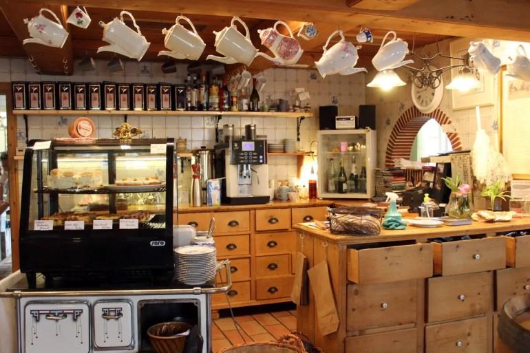 Ausgefallenes Café: das Döörnsk an Köögem in Nebel