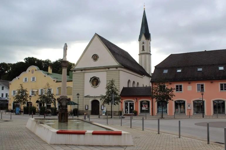 Das Hotel Das Lindner liegt im Zentrum von Bad Aibling