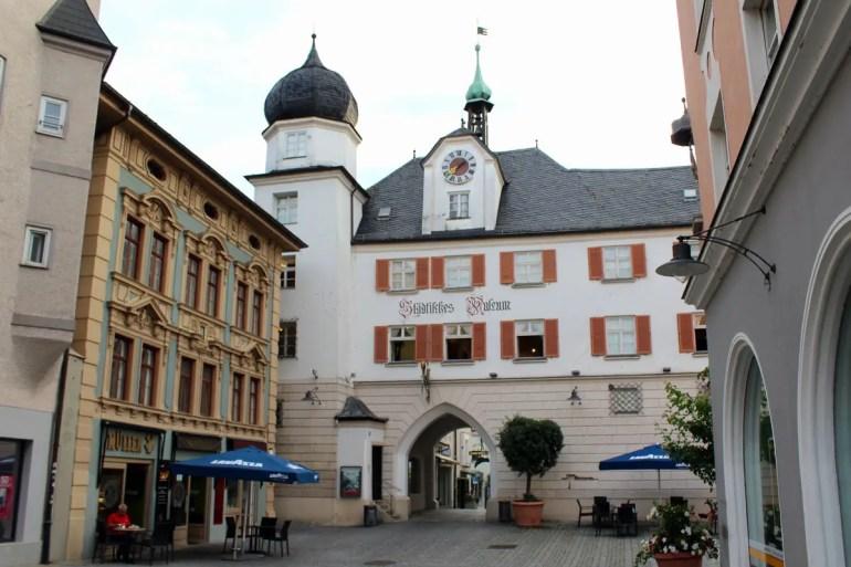 Im Städtischen Museum von Rosenheim gibt's Stadtgeschichte