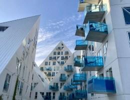 Spektakuläre Architektur im Hafengebiet: The Iceberg - auf Dänisch Isbjerget