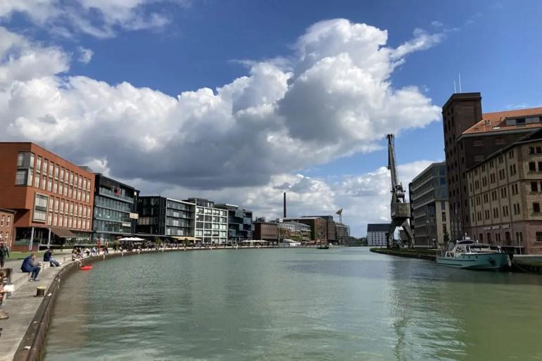 Kreativquartier trifft auf Restaurantszene: Münsters Hafen