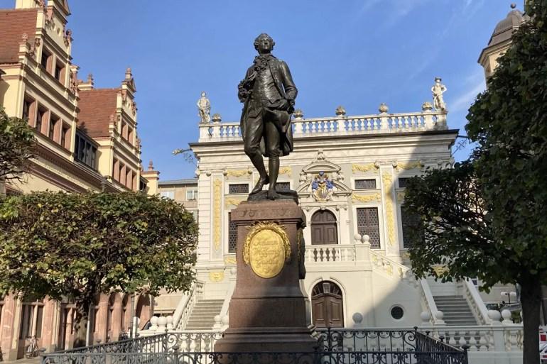 Goethe hat mit Faust seiner Unistadt Leipzig ein Denkmal gesetzt