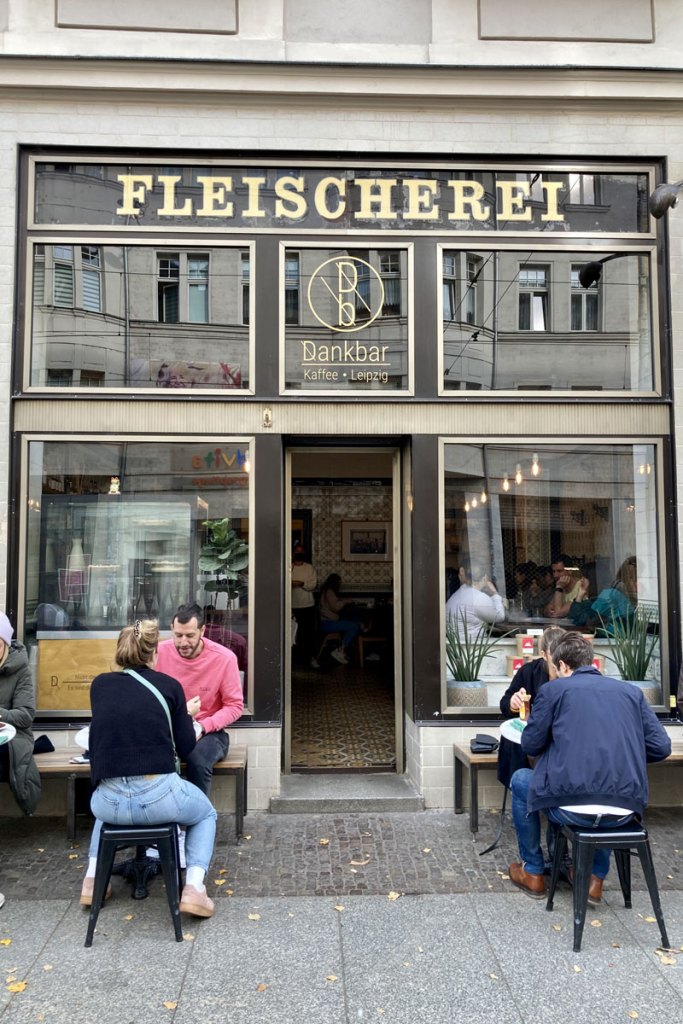 Das Café Dankbar befindet sich in einer alten Fleischerei