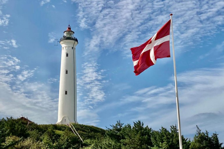 Der Lyngvig Fyr ist einer der fotogenenen Leuchttürme an Dänemarks Nordseeküste