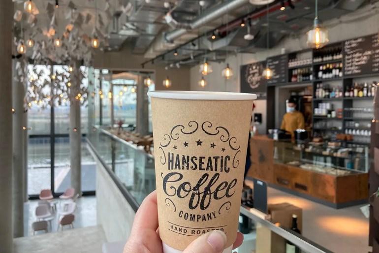 Bei der Hanseatic Coffee Company im Foodlab bekommst du leckeren Kaffee
