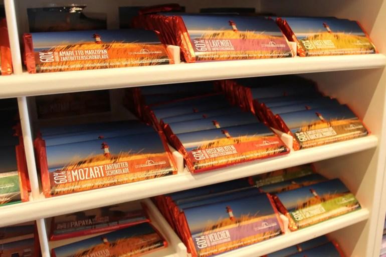 Sylt für Zuhause gibt's in der Sylter Schokoladenmanufaktur