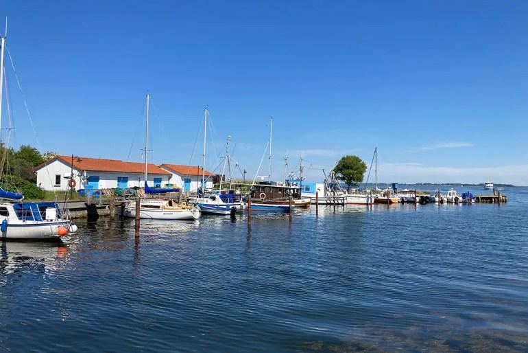 Der kleine Hafen von Neuendorf
