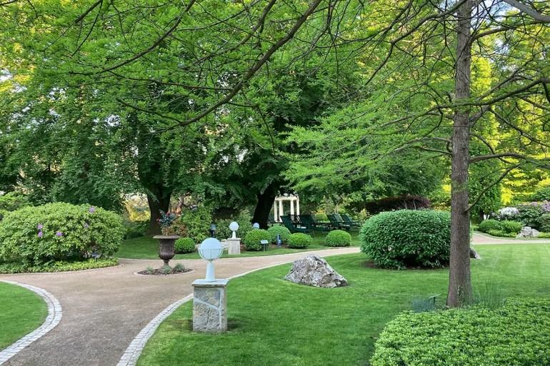 Mein Lieblingsort: der Park im Strandidyll in Heringsdorf