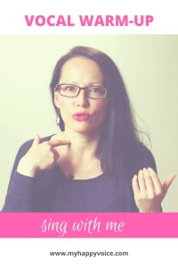 vocal warmup for beginners