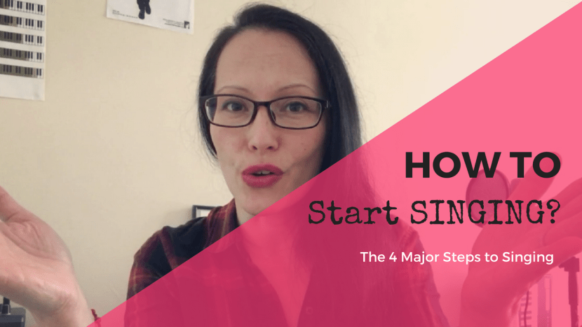 4 steps to singing