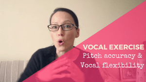 Singing Exercise sing in pitch vocal agility