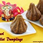 Pearl Millet Modak | Kambu Kozhukkattai Recipe