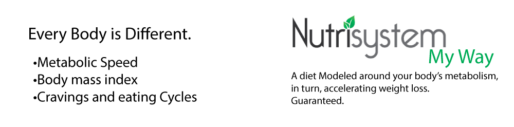 Nutrisystem my way