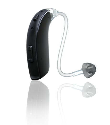 The most powerful hearing aid style, behind-the-ear