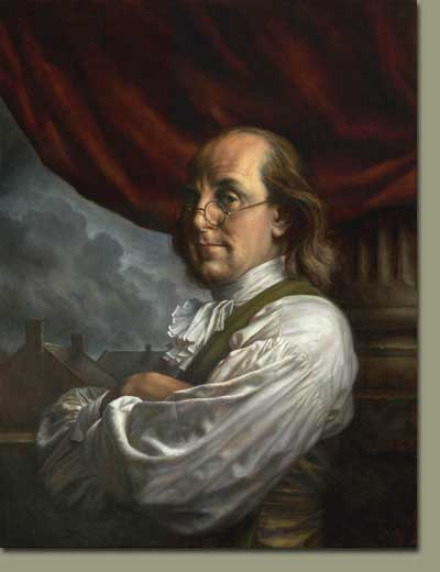 Yes, even you, Ben Franklin. Wipe that smug smile off your face, and get in my wallet. Please?