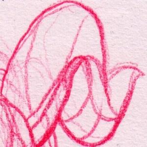 Left handed sketch of Sklee,: having fun - as usual