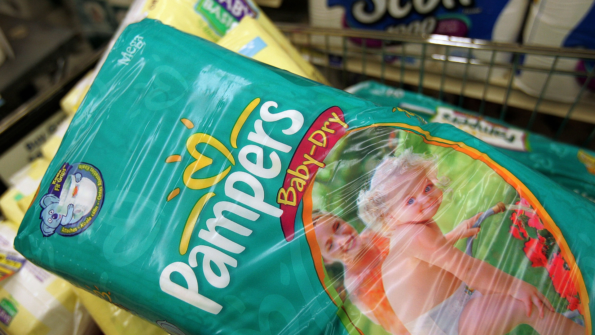 Pampers, diapers, baby, Procter & Gamble41742387-159532
