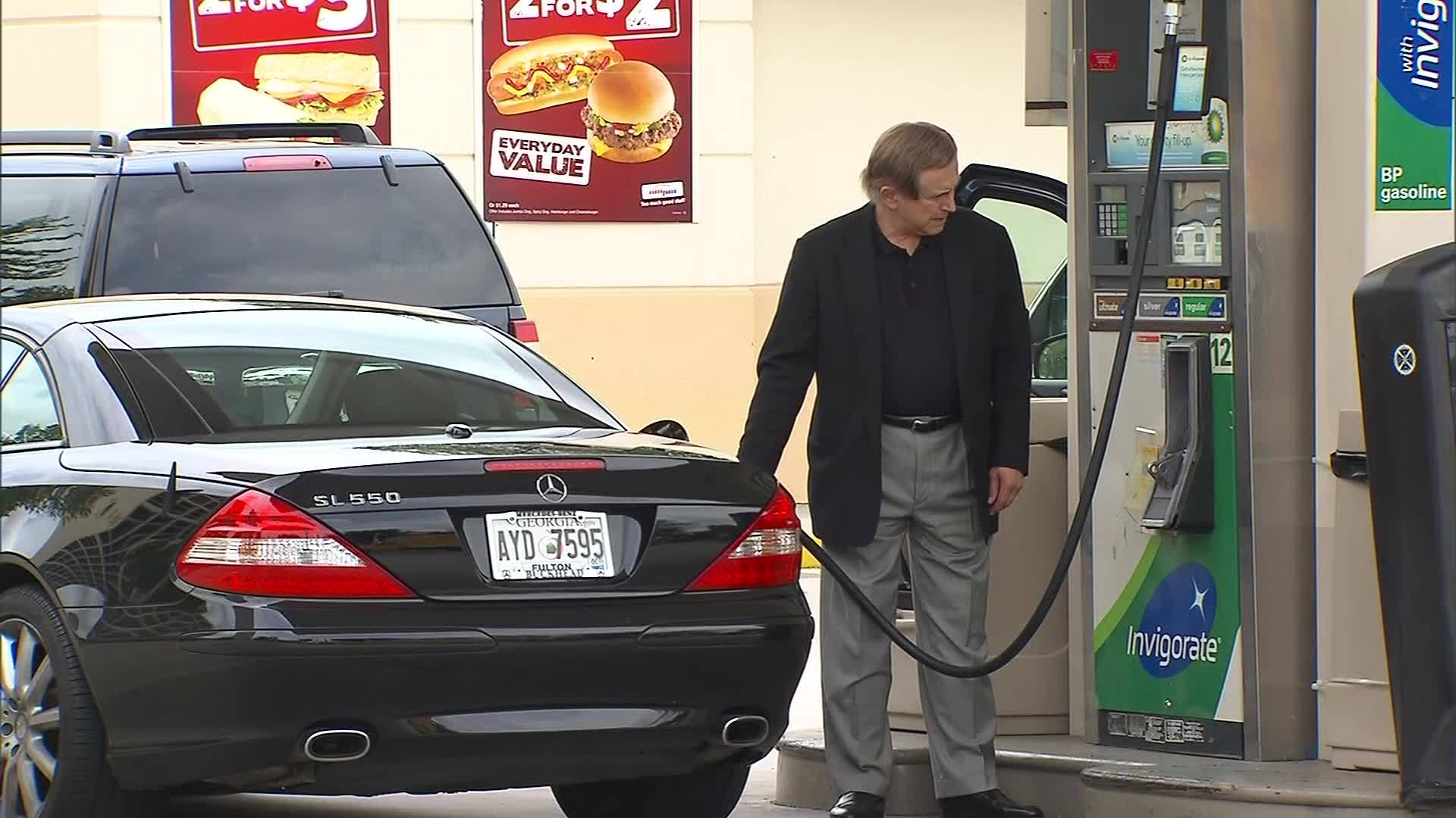 Gas prices could fall below $2 a gallon
