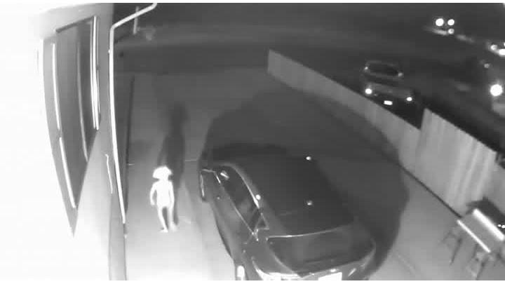 Home security footage captures creepy Harry Potter character