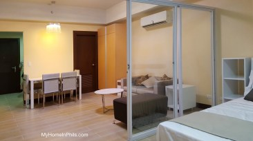 Two Central Makati Studio Unit for sale
