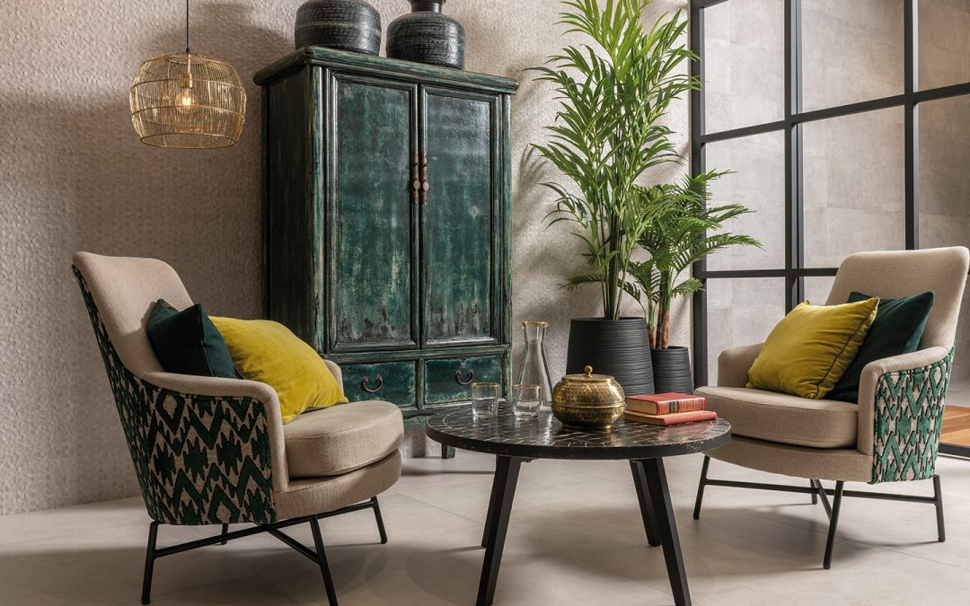 arredamento green una casa dal design sostenibile, dove lo stile incontra l'amore per l'ambiente. Il Verde Colore Di Tendenza Per L Arredamento D Interni Edilnova