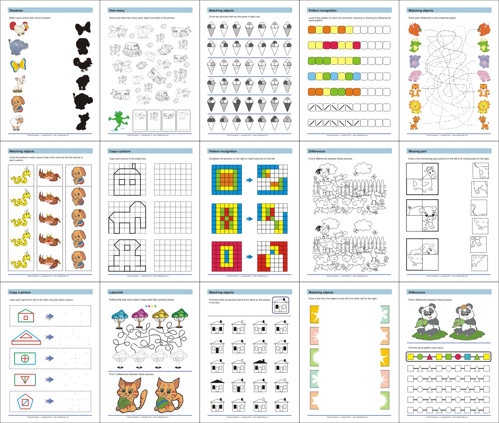 Printable Workbooks