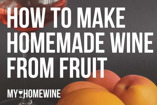 how to make homemade wine from fruit
