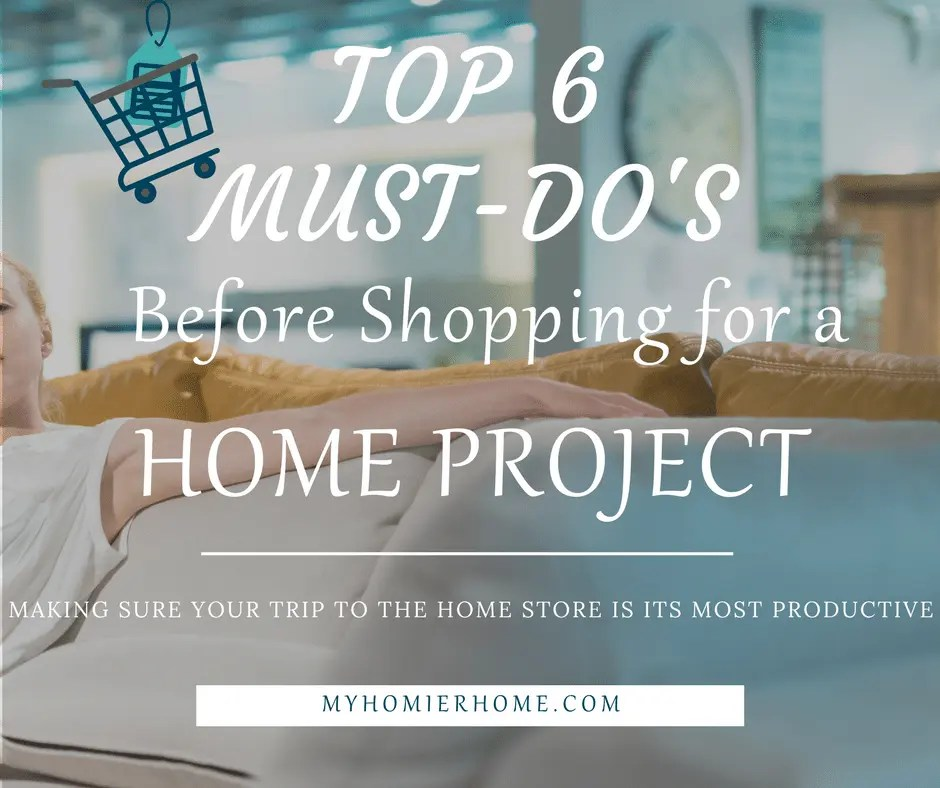 Home Project Shopping Checklist