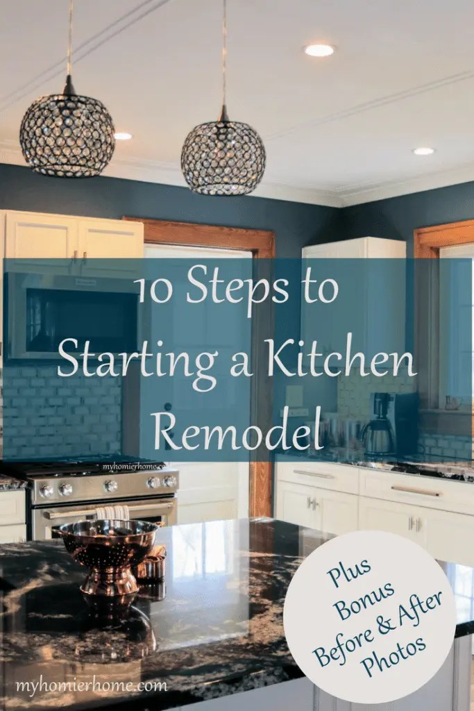 Everything you need to know to start organizing your thoughts and ideas for your kitchen remodel... Plus bonus before and after photos using this method.