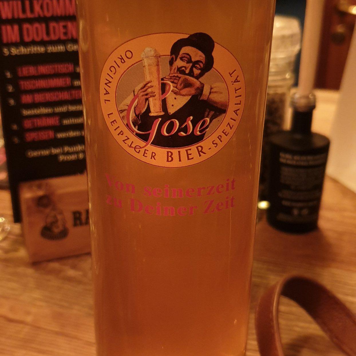 Original Leipziger Gose im Glas
