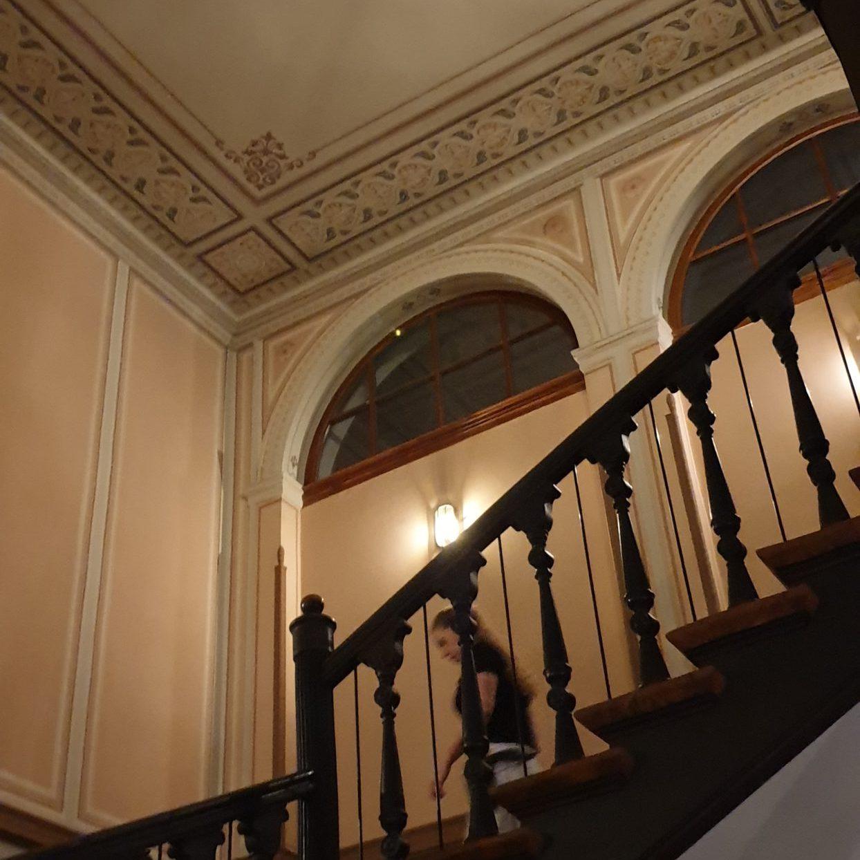 Historisches, erhaltenes Treppenhaus