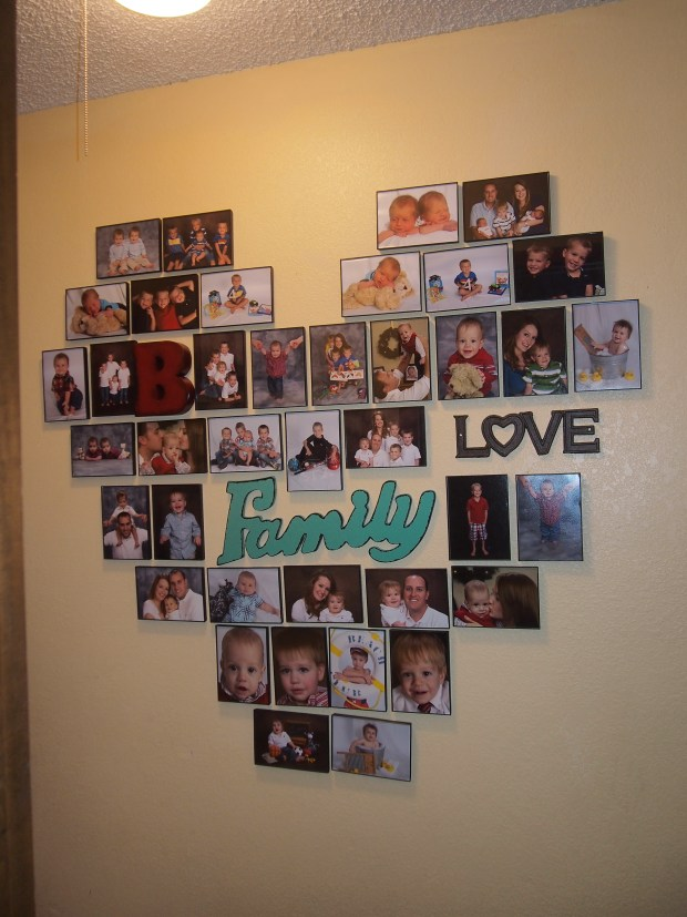 HEART WALL COLLAGE