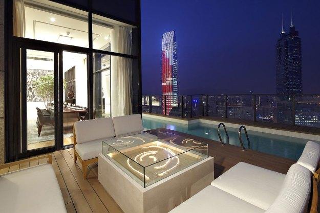 Duplex Penthouse in China by Kokaistudios 01