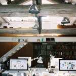 Attic Office Design.