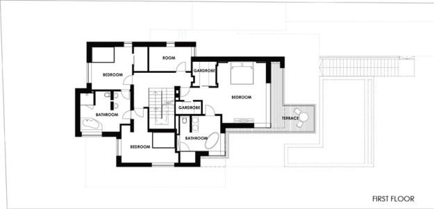 White cube house by ARX Architect Studio Hungary 17