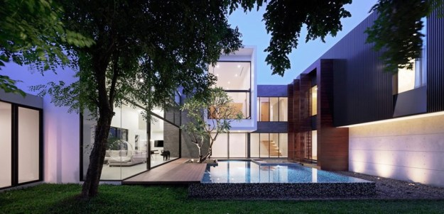 Lake Side Residence no. 113 by AAD design 01