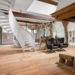 Old farmhouse reshaped  by Dennebos Flooring