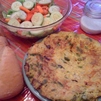 Monday's with Mami – Tortilla Española con Espárrago