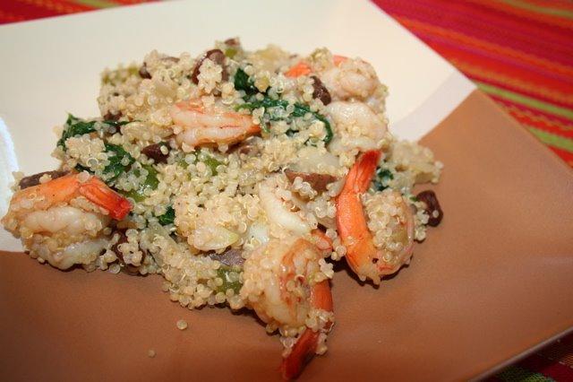Shrimp Quinoa | myhumblekitchen.com