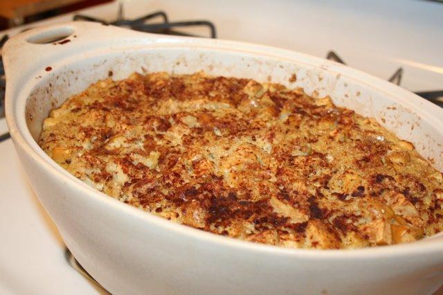 Baked Apple Cinnamon Oatmeal