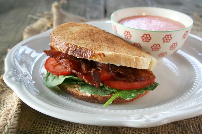 A Simple Summer Sandwich: BLT