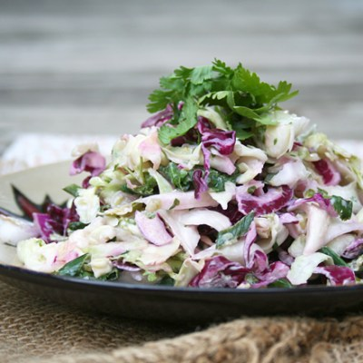A Mexican Summer Coleslaw