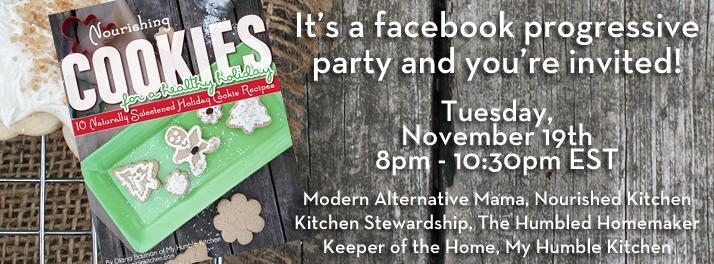It's a Facebook Progressive Party | myhumblekitchen.com