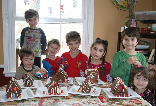Naturally Sweetened Gingerbread House | myhumblekitchen.com