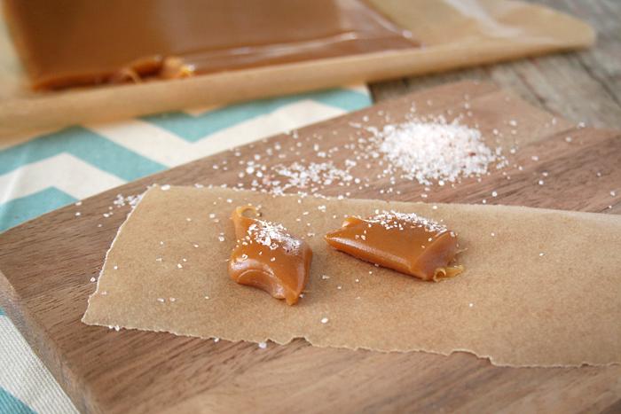 Naturally Sweetened, Honey Salted Caramels   myhumblekitchen.com