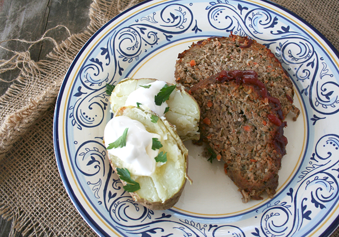 A Flavorful Meatloaf Recipe, The Real Food Way