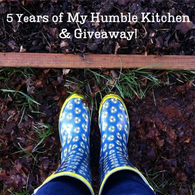 5 Years of My Humble Kitchen and Giveaway!