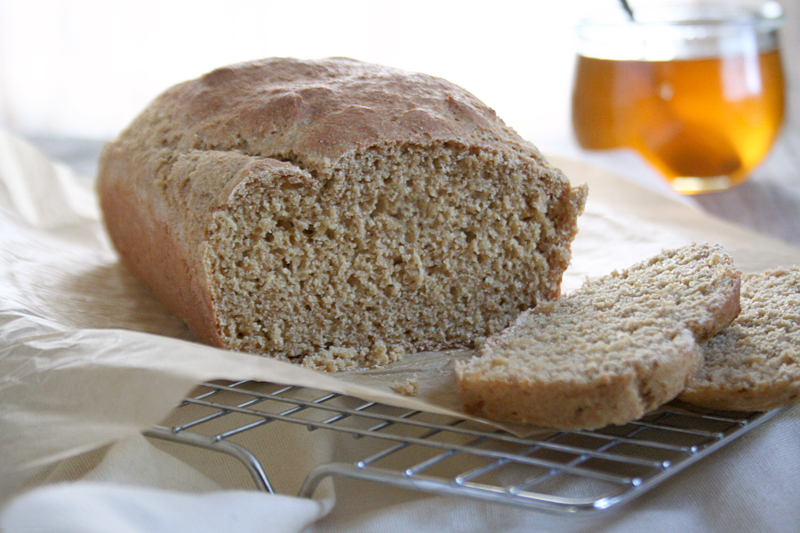Simple, 100% Whole Wheat Einkorn Bread